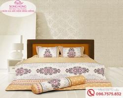 Chăn ga gối Sông Hồng dòng Classic vải Cotton C17-C44