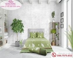 Chăn ga gối Sông Hồng dòng Classic vải Cotton C17-C50