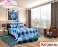 Chăn ga gối Sông Hồng dòng Classic vải Cotton C17-C51