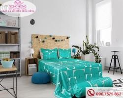 Chăn ga gối Sông Hồng dòng Classic vải Cotton C17-C54